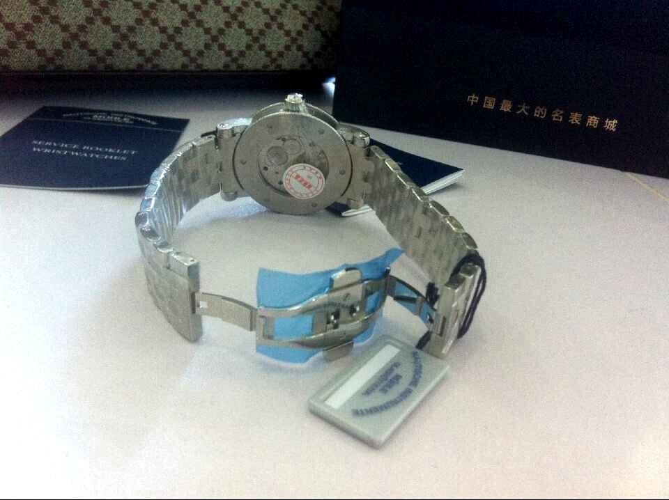 格拉苏蒂·莫勒M1-08-01-MB手表【表友晒单作业】终于到货了...
