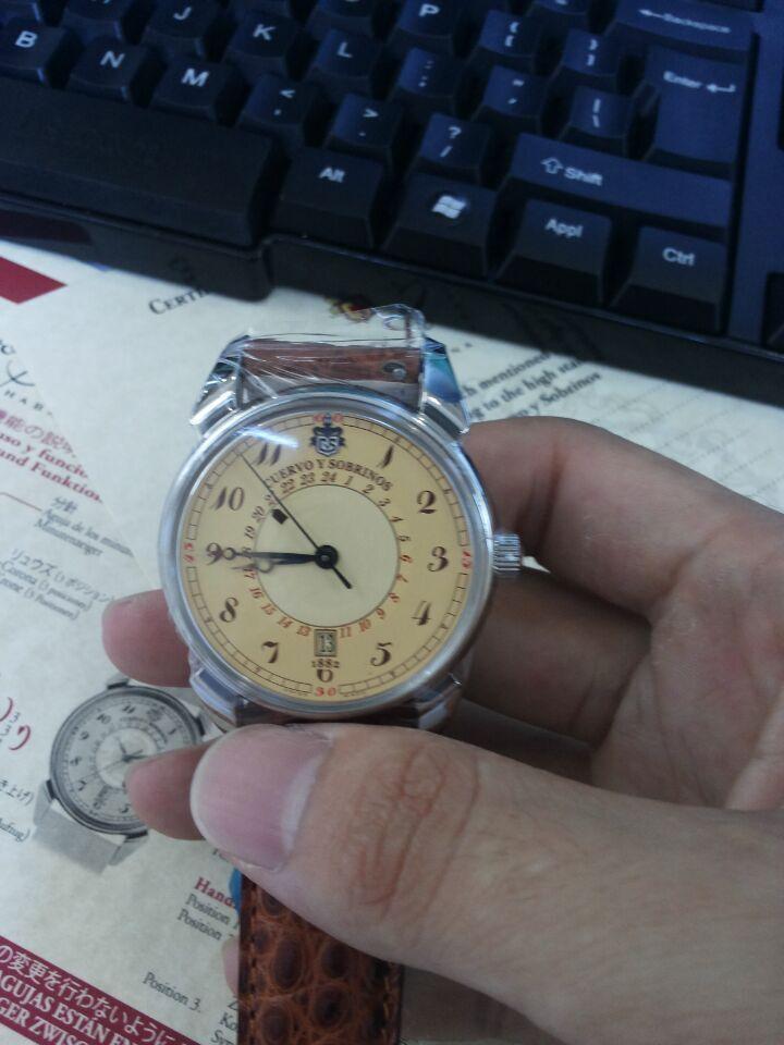 库尔沃3196.1C手表【表友晒单作业】果然是瑞士...