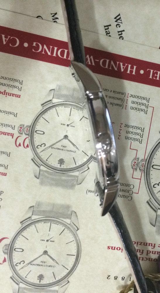 库尔沃3130.1FN手表【表友晒单作业】拿到表马上...