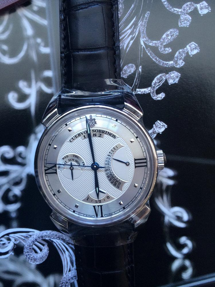 库尔沃3194.1A(黑色表带)手表【表友晒单作业】不错的选择...