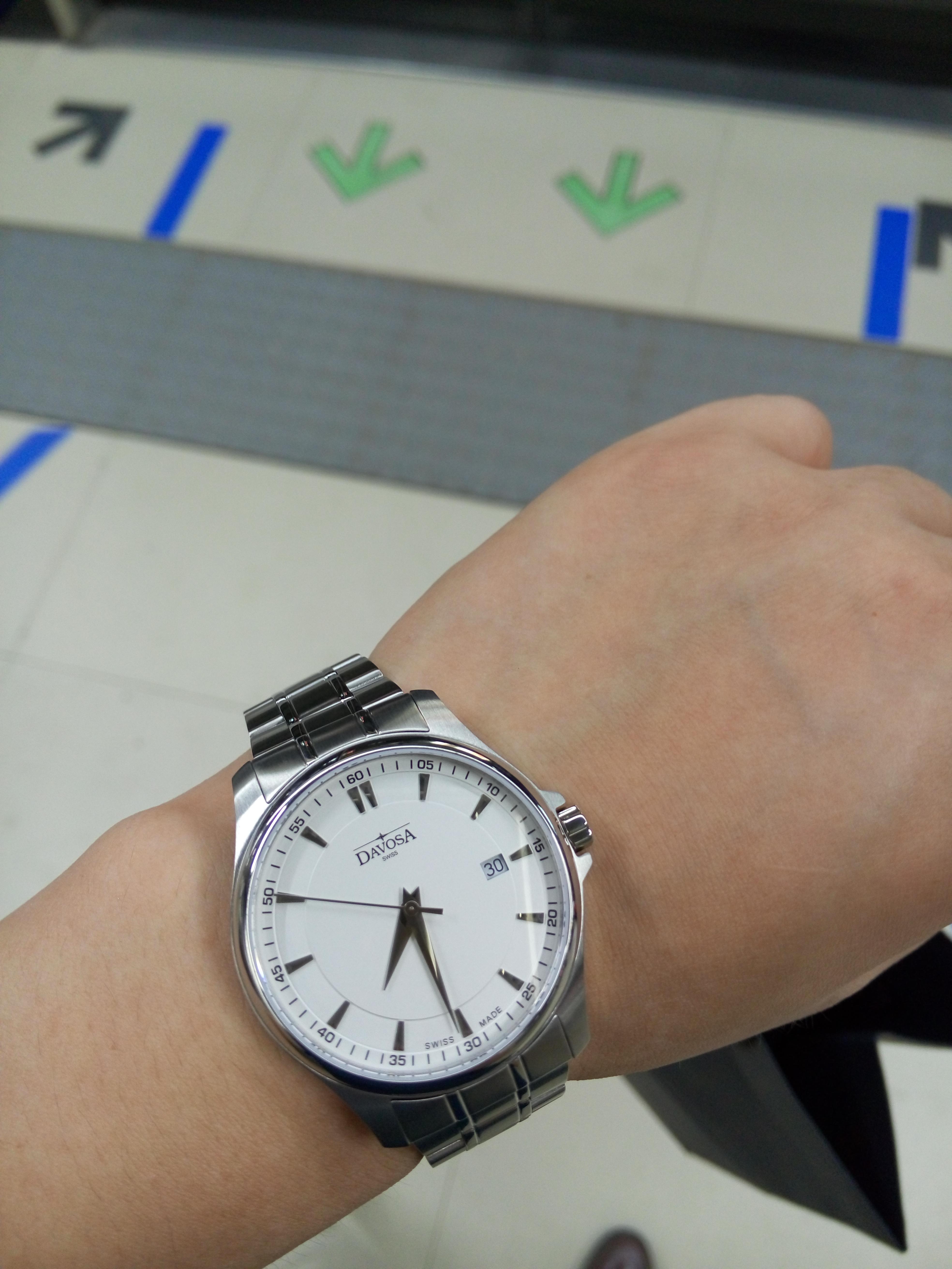 迪沃斯16346315手表【表友晒单作业】说实话,手...