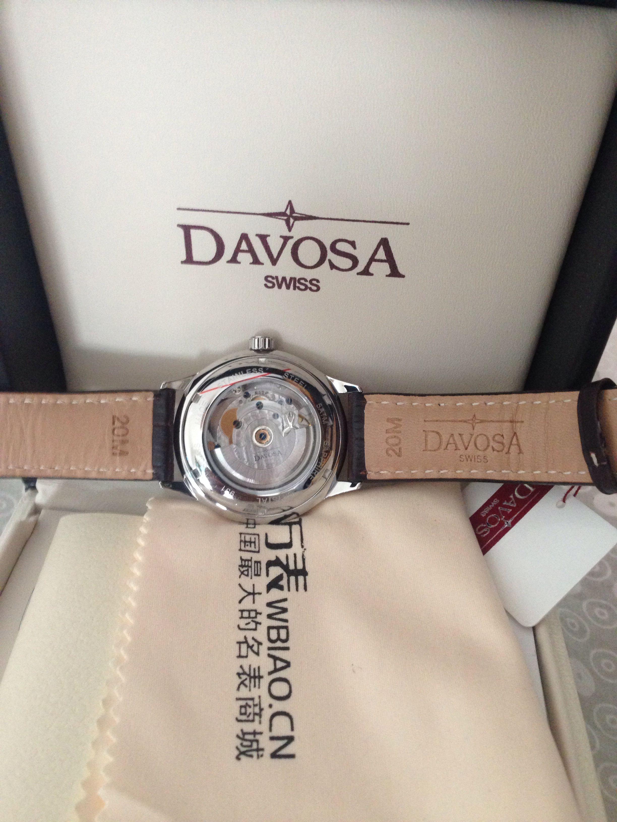 迪沃斯16145616手表【表友晒单作业】本来看中...
