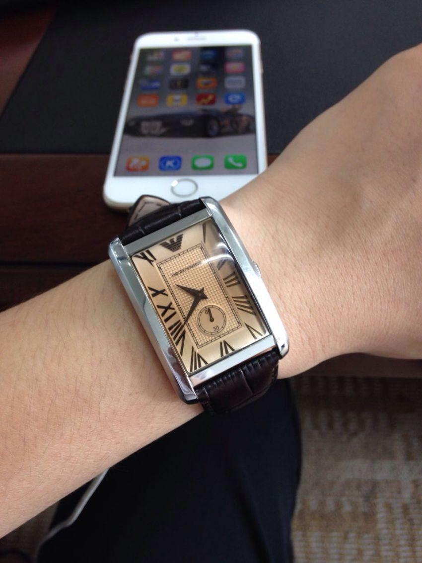 阿玛尼AR1605手表【表友晒单作业】表总体感觉...