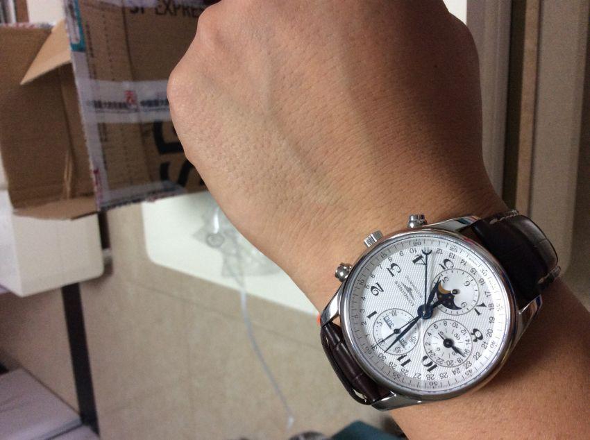 浪琴L2.673.4.78.3手表【表友晒单作业】昨天收到的...