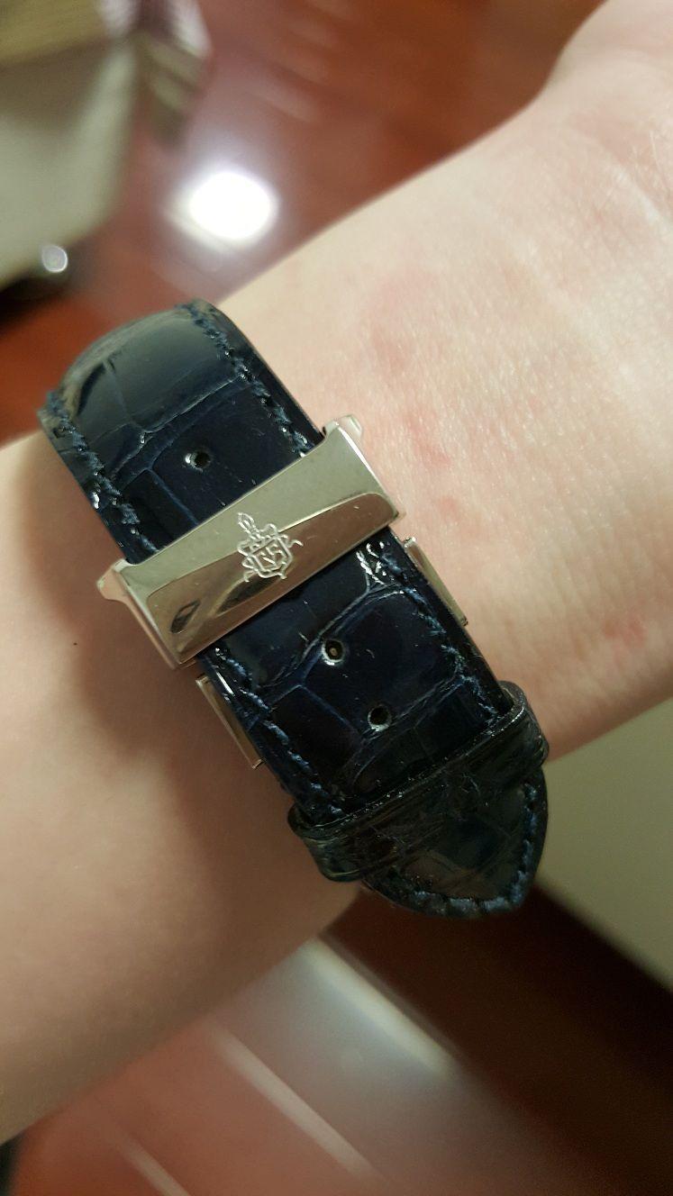 库尔沃3196.1I手表【表友晒单作业】第二天就到...