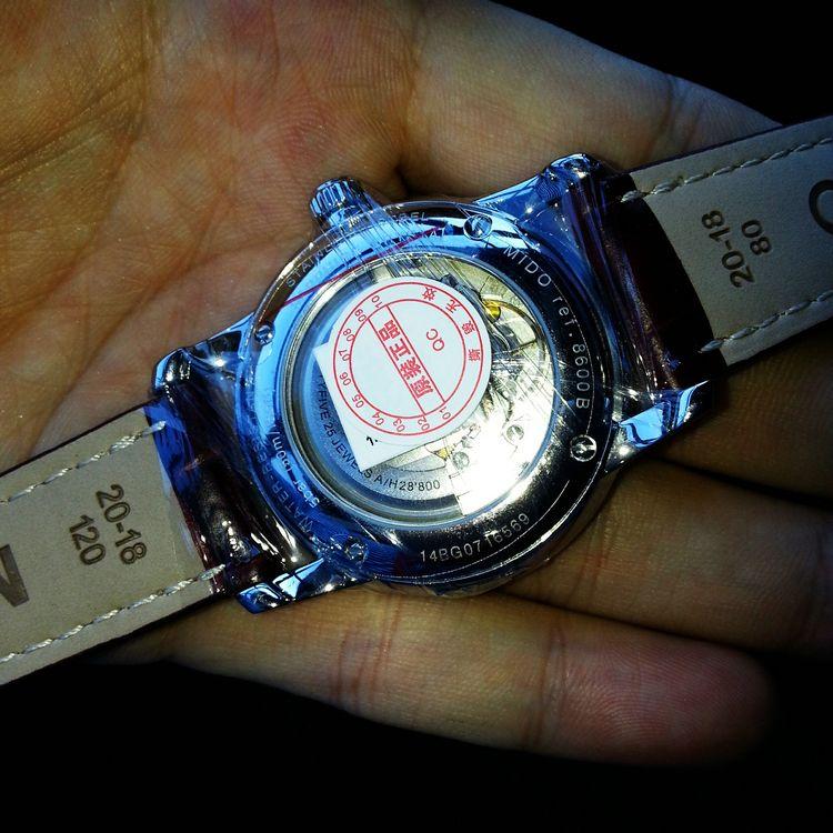 美度M8600.4.26.8手表【表友晒单作业】刚刚拿到手...