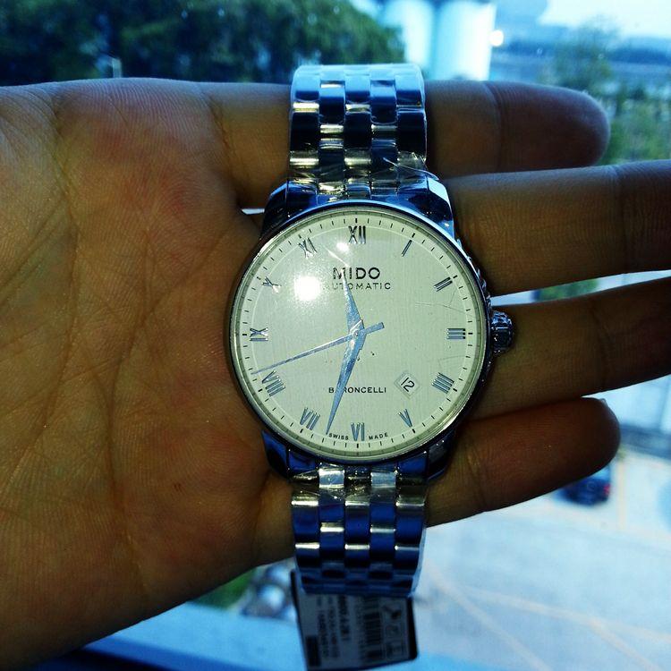 美度M8600.4.26.1手表【表友晒单作业】表带好像长...