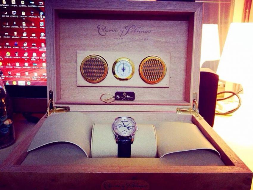 库尔沃3194.1A(黑色表带)手表【表友晒单作业】买了快有一...