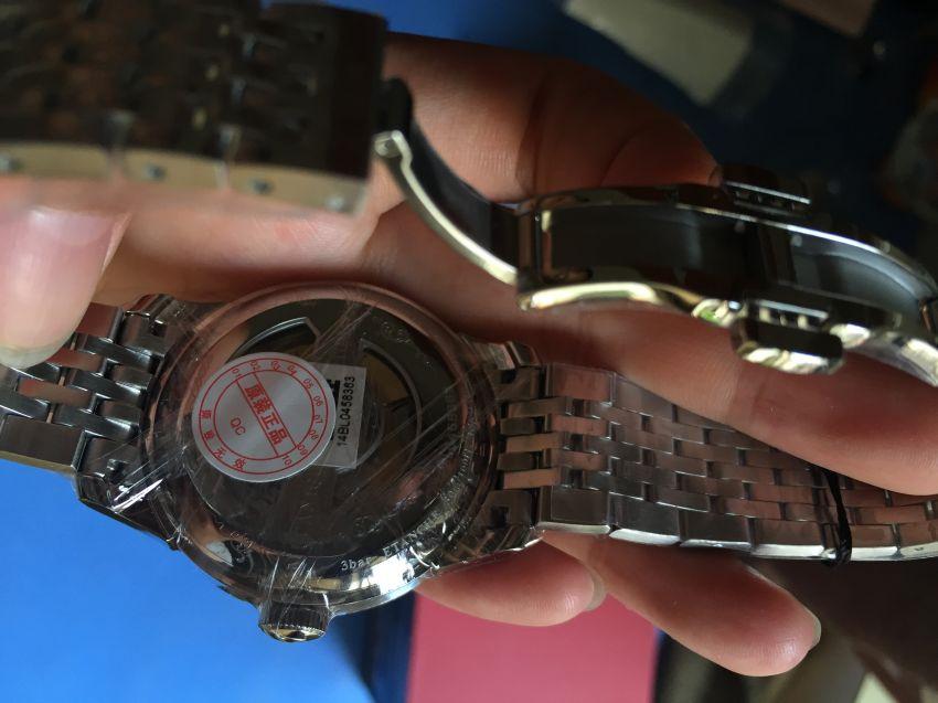 天梭T41.1.483.53手表【表友晒单作业】买给老公的...