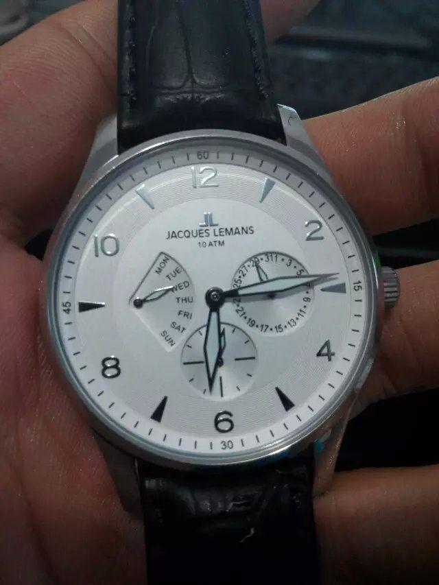 雅克利曼1-1827B手表【表友晒单作业】真的很不错...