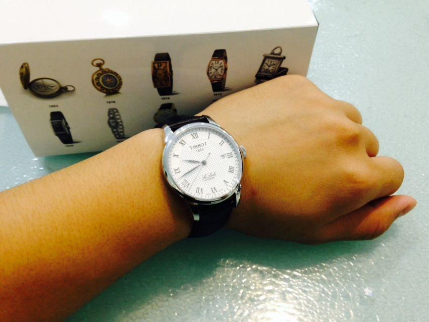 天梭T41.1.423.33手表【表友晒单作业】表不错 是...