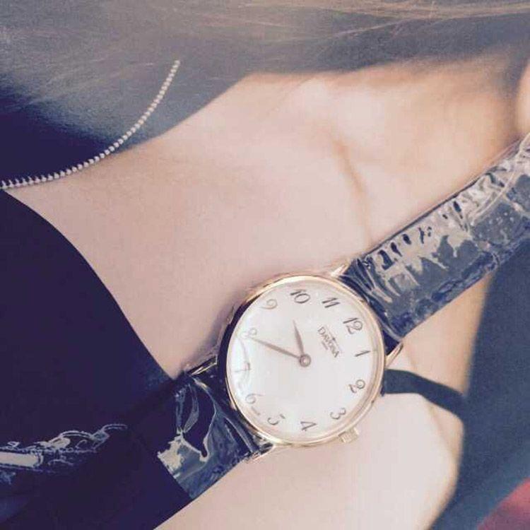迪沃斯16756626手表【表友晒单作业】和美女在一...