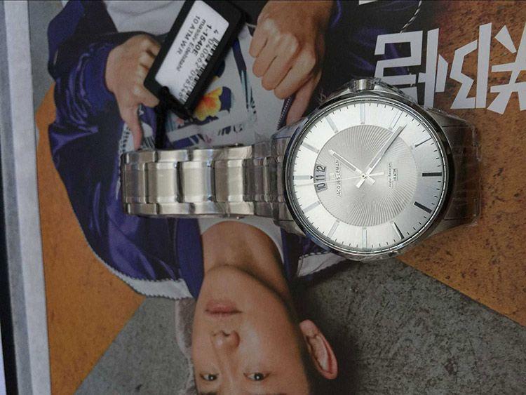 雅克利曼1-1540E手表【表友晒单作业】挺好看的。...