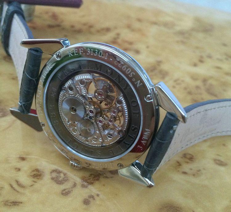 库尔沃3130.1SQS(深灰色表带)手表【表友晒单作业】大气,很好...