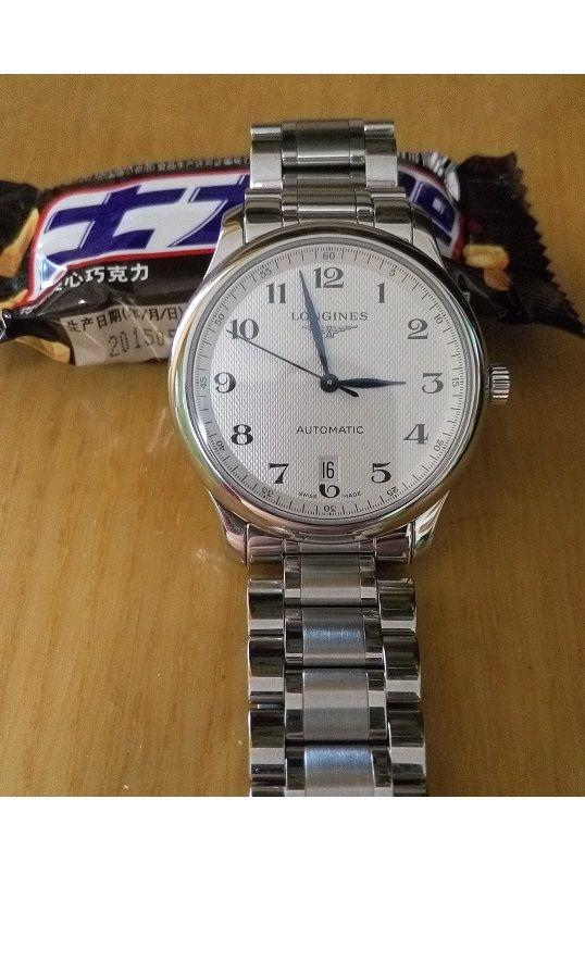 浪琴L2.628.4.78.6手表【表友晒单作业】手表实物比...