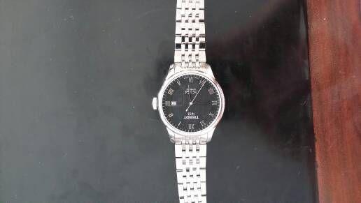 天梭T41.1.483.53手表【表友晒单作业】不错,表带...