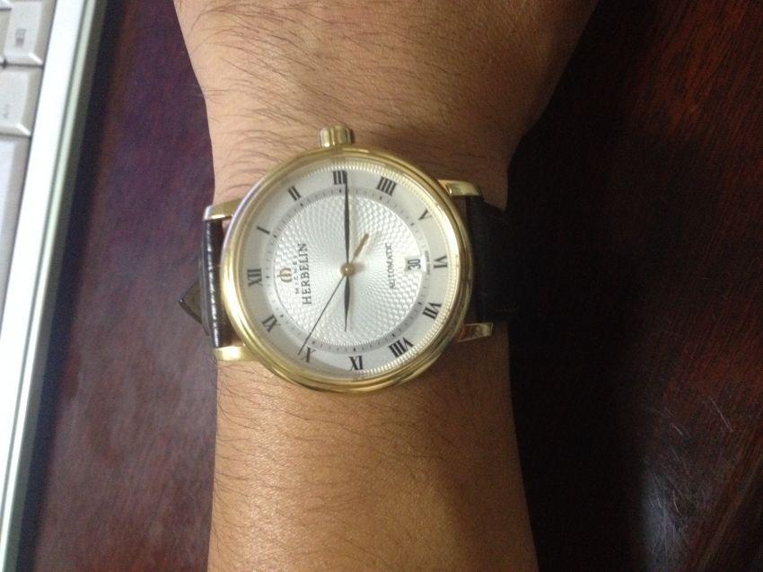 赫柏林1643/P08MA手表【表友晒单作业】表收到了,...