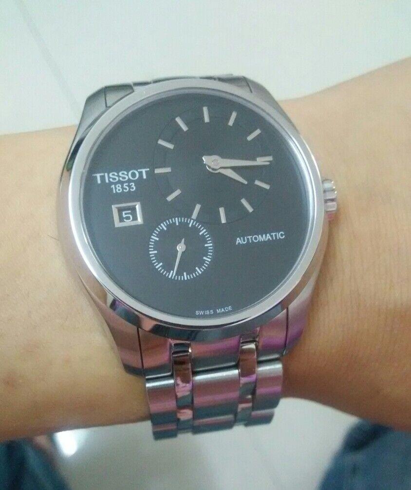 天梭T035.428.11.051.00手表【表友晒单作业】表很漂亮,...