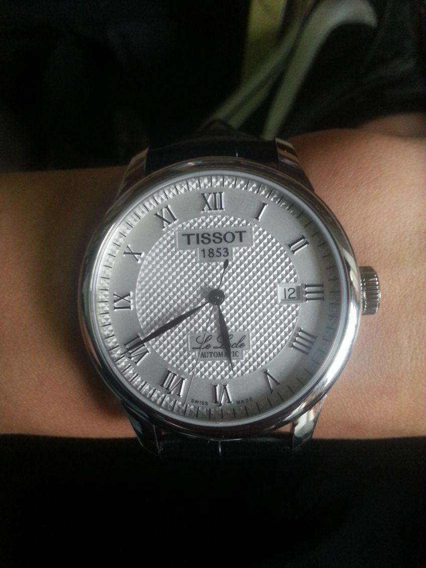 天梭T41.1.423.33手表【表友晒单作业】昨天下的单...