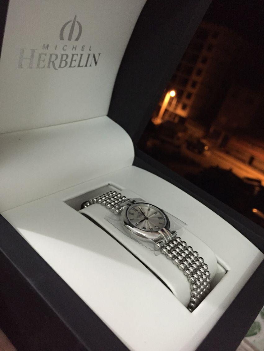 赫柏林16873/B08手表【表友晒单作业】她的生日礼...