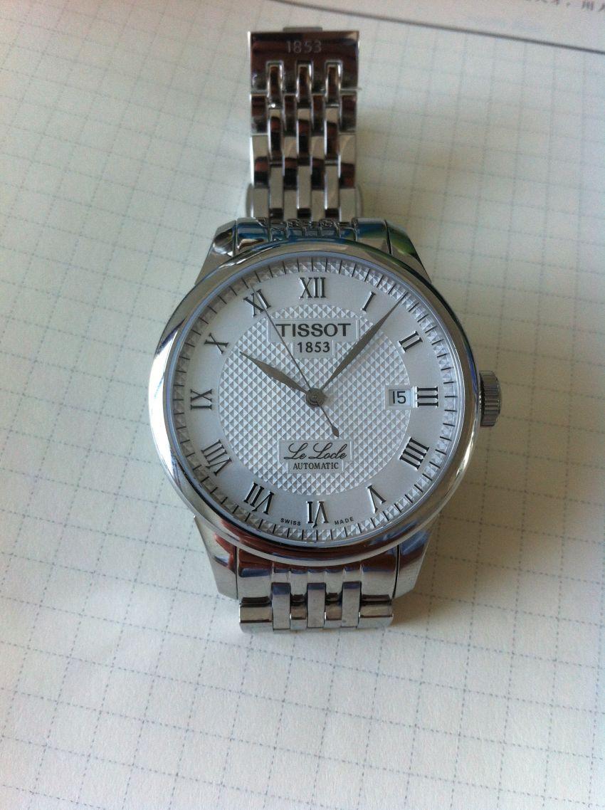 天梭T41.1.483.33手表【表友晒单作业】9月12日...