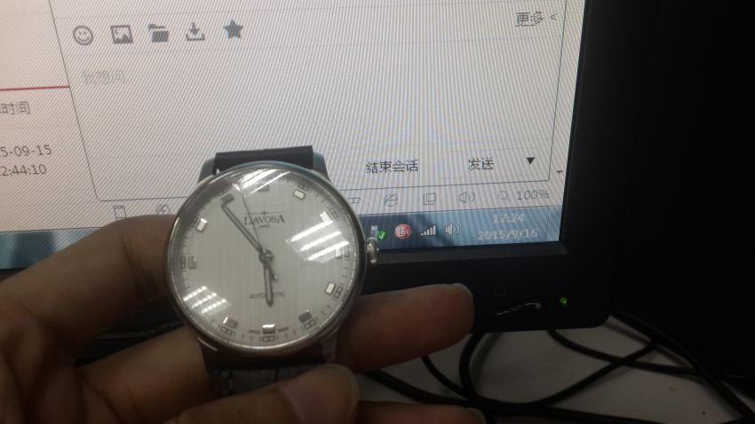 迪沃斯16151315手表【表友晒单作业】物流是挺快...