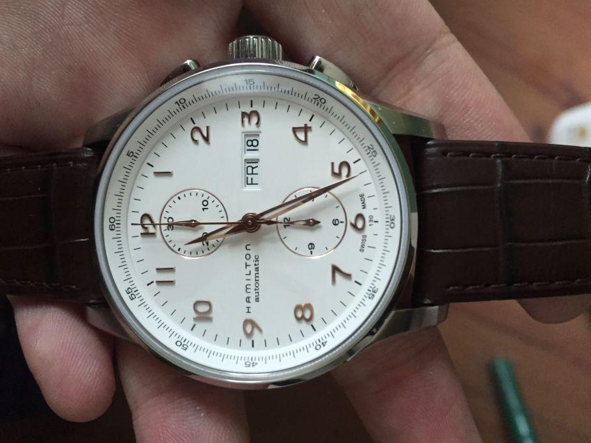汉米尔顿H32766513手表【表友晒单作业】快递刚刚给...