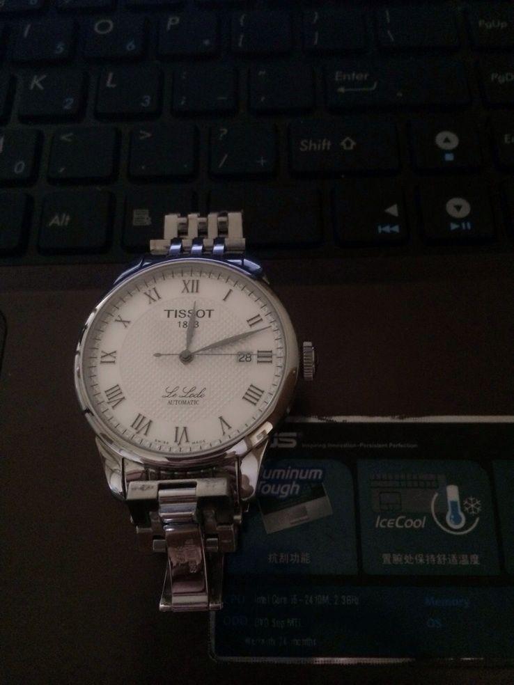 天梭T41.1.483.33手表【表友晒单作业】原装正品,...