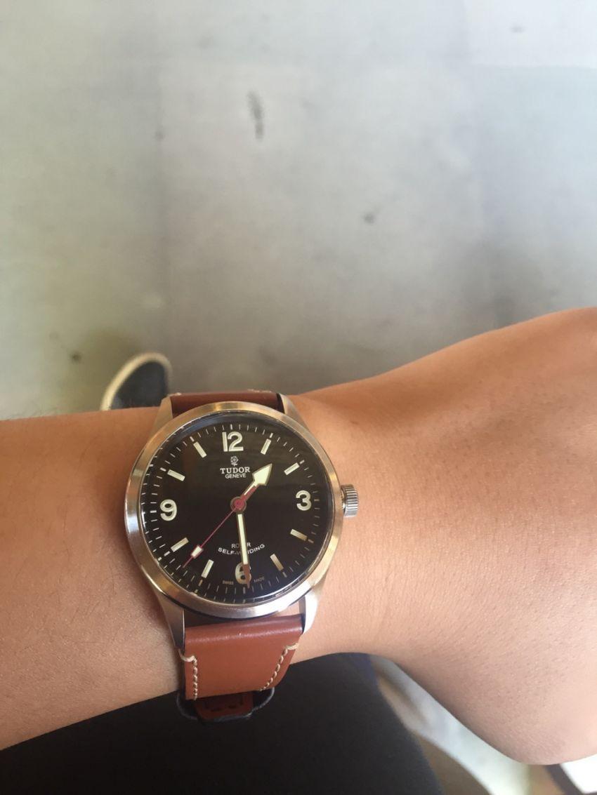 帝舵79910-BKBB手表【表友晒单作业】带了一星期...