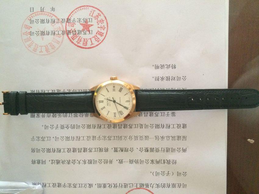 爱宝时3411.131.24.28.25手表【表友晒单作业】手表拿到手...