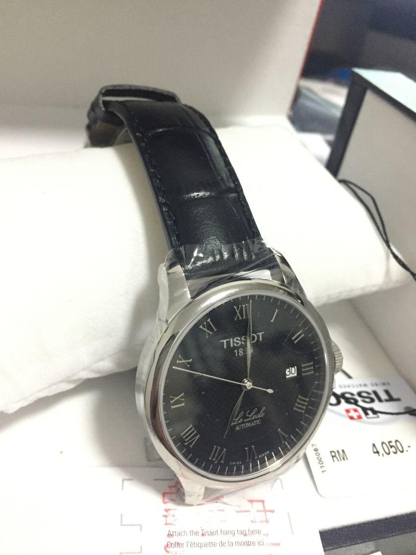 天梭T41.1.423.53手表【表友晒单作业】手表很有质...