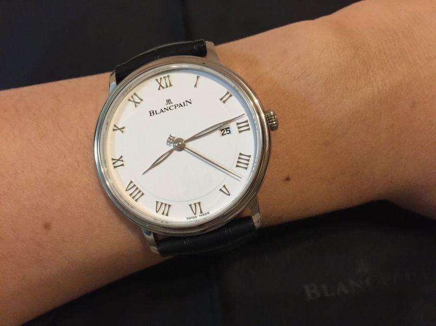 宝珀6651-1127-55B手表【表友晒单作业】很好的一块...