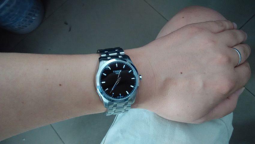 天梭T035.446.11.051.00手表【表友晒单作业】我买过这只...