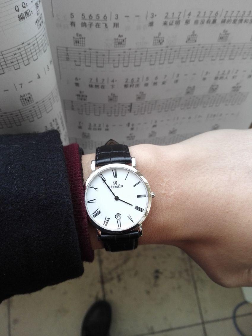赫柏林413/01手表【表友晒单作业】很喜欢这只...
