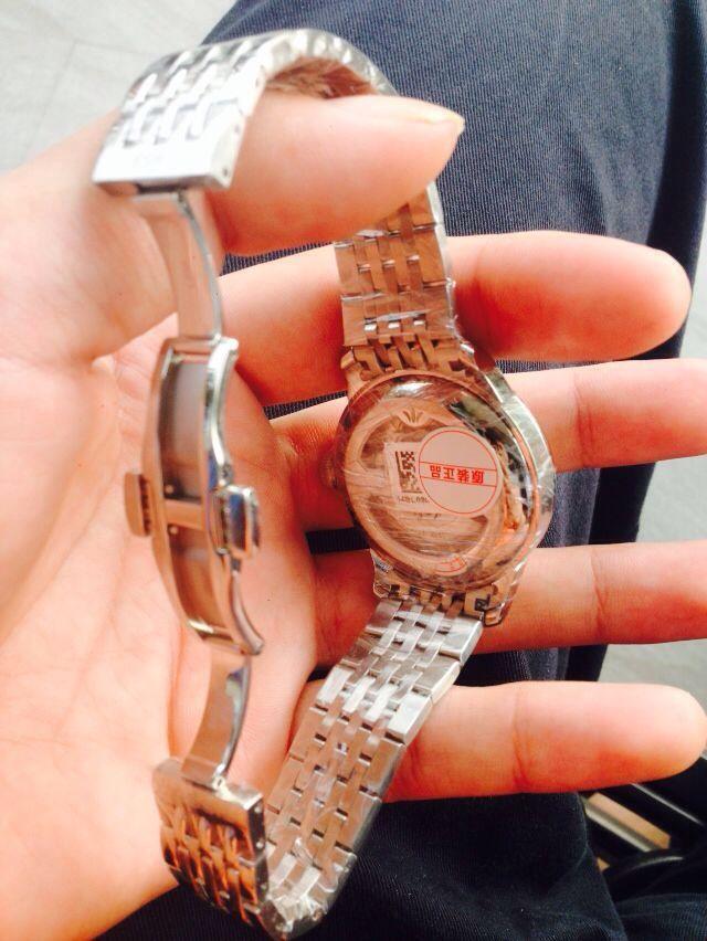 天梭T006.428.11.038.01手表【表友晒单作业】实物比照片...