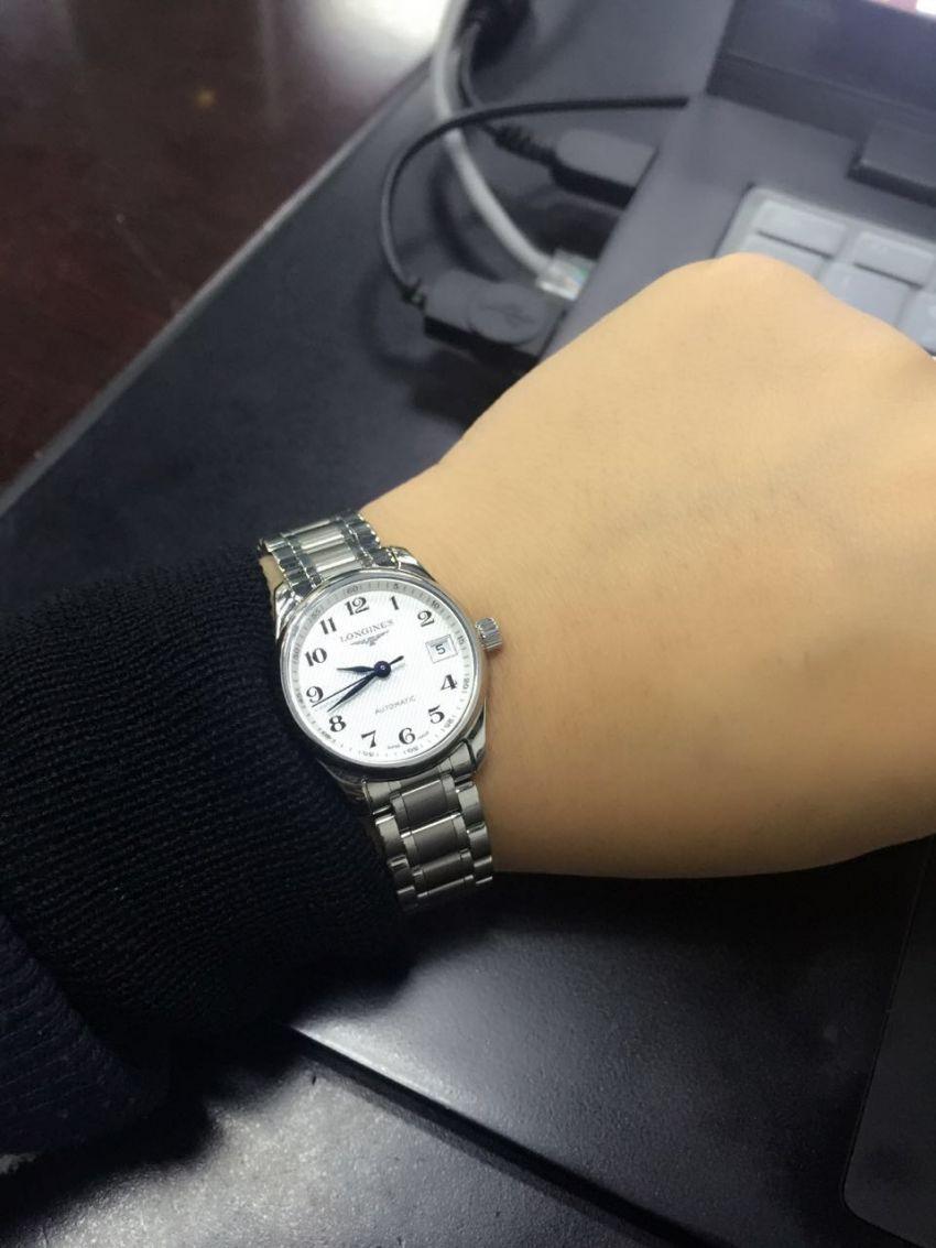 浪琴L2.128.4.78.6手表【表友晒单作业】在浪琴的几...