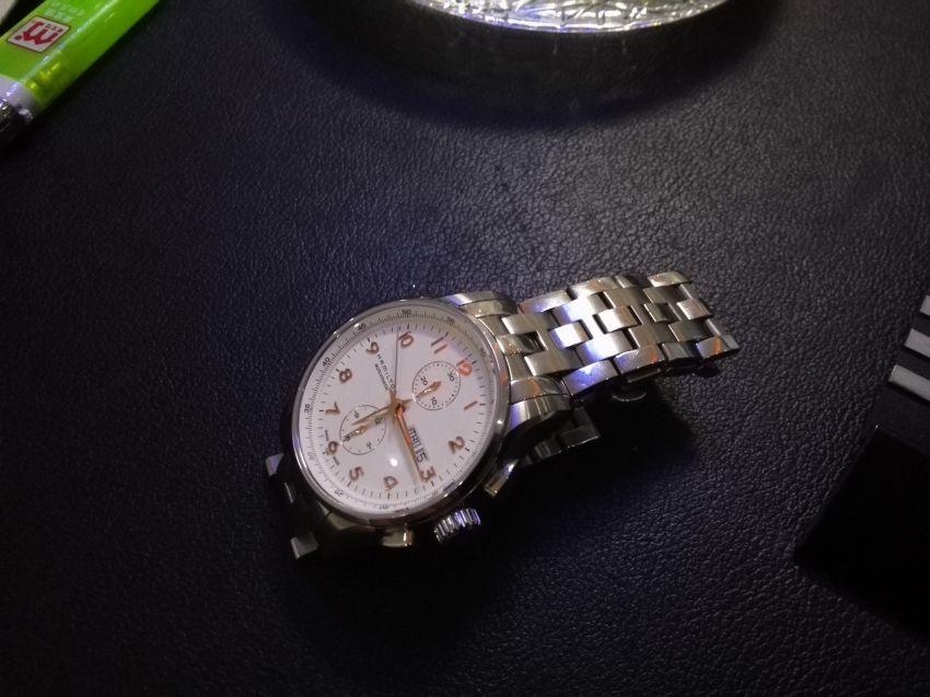 汉米尔顿H32766113手表【表友晒单作业】走时准确,...