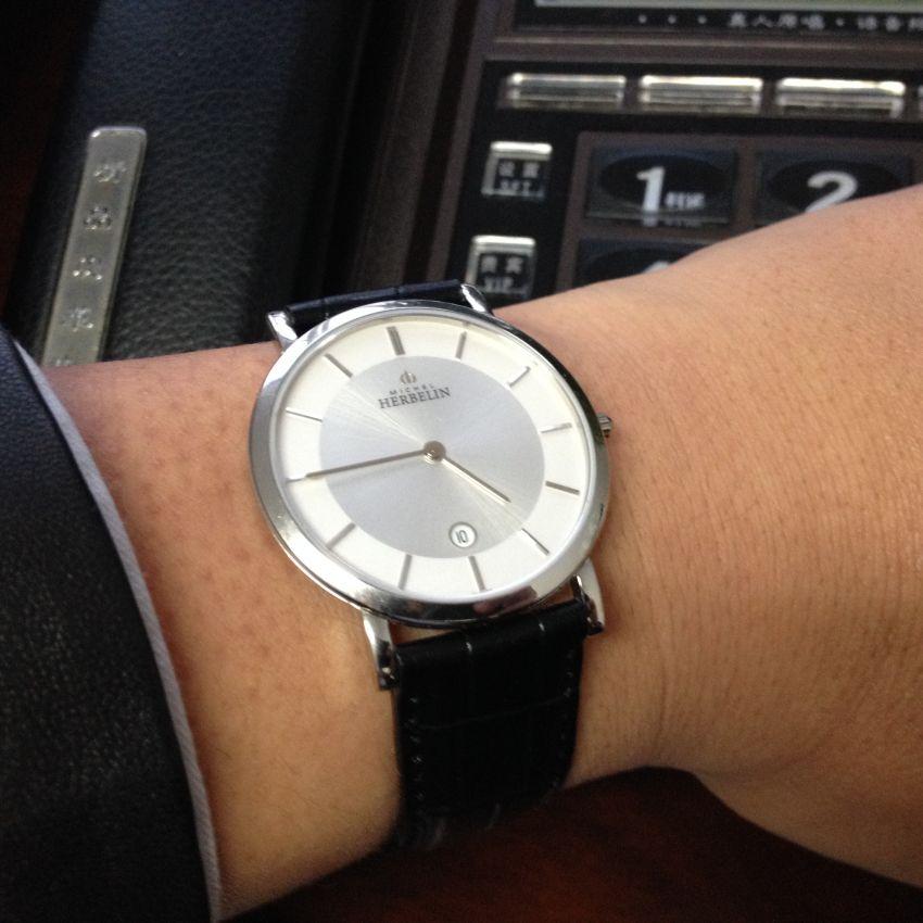 赫柏林413/11手表【表友晒单作业】手表很精致...