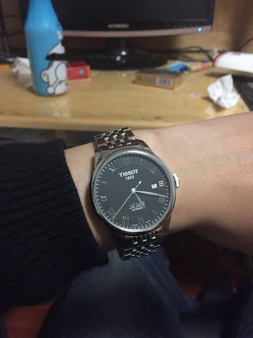 天梭T41.1.483.53手表【表友晒单作业】非常好~~...