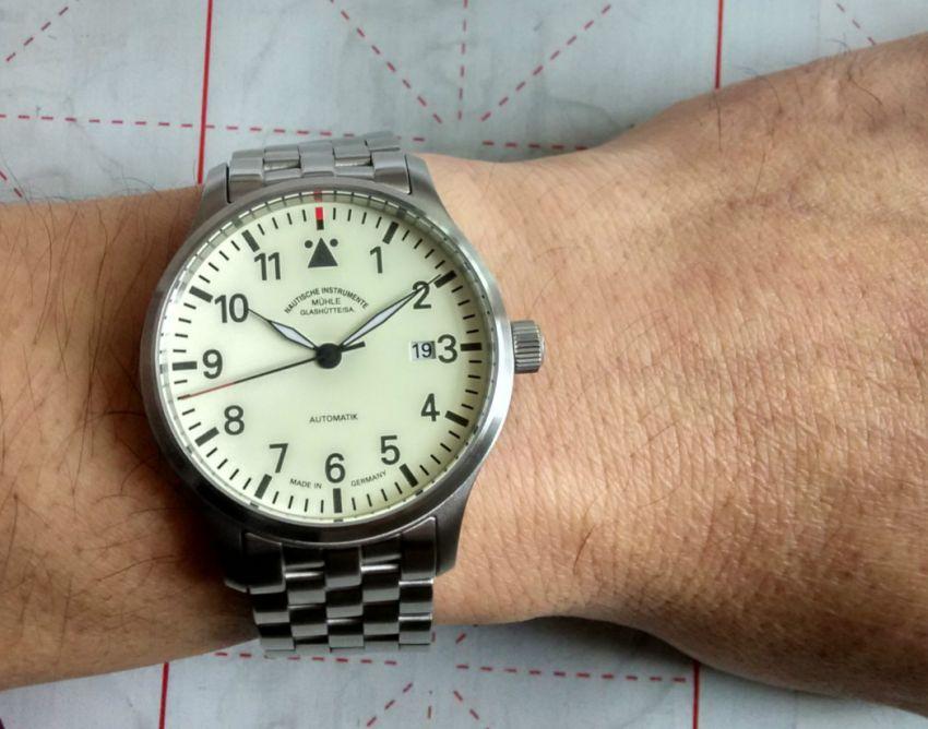 格拉苏蒂·莫勒M1-37-47-MB手表【表友晒单作业】刚买回来一...