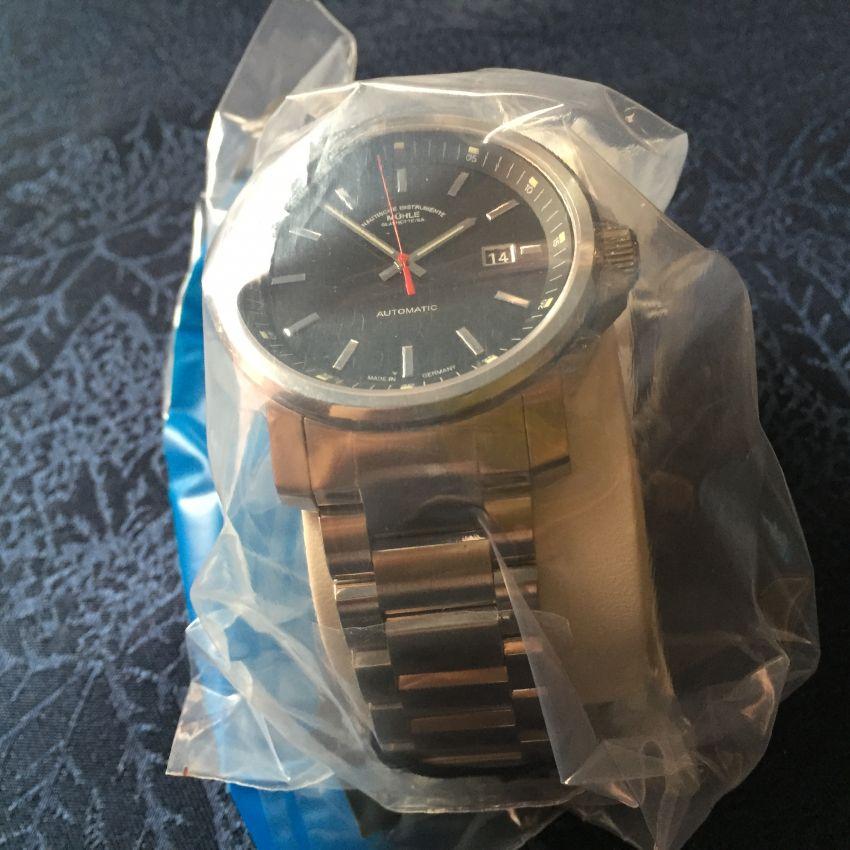 格拉苏蒂·莫勒M1-25-33-MB手表【表友晒单作业】比较喜欢德...
