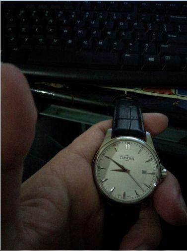 迪沃斯16246615手表【表友晒单作业】刚忘了晒单...