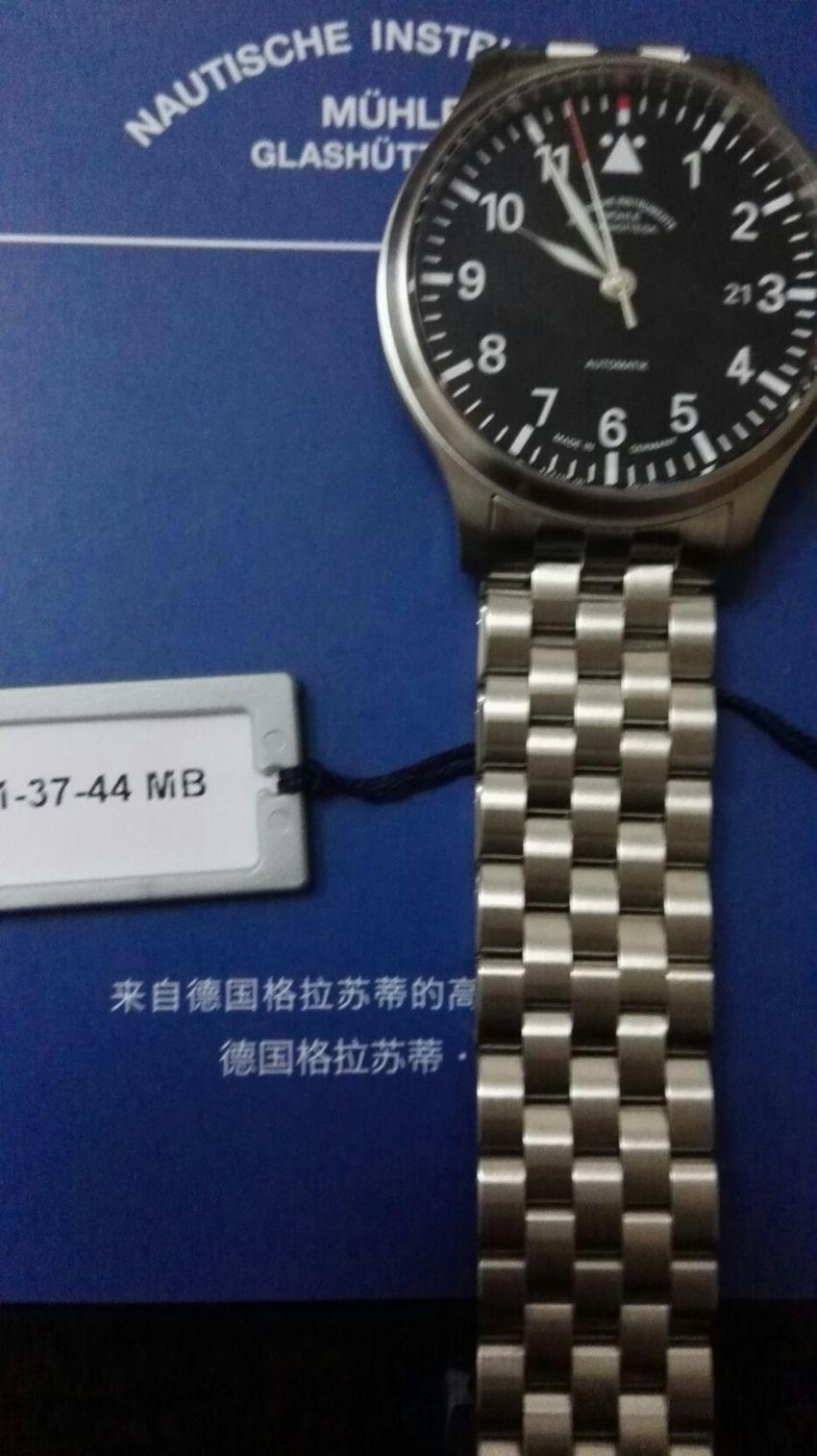 格拉苏蒂·莫勒M1-37-44-MB手表【表友晒单作业】戴了一段时...