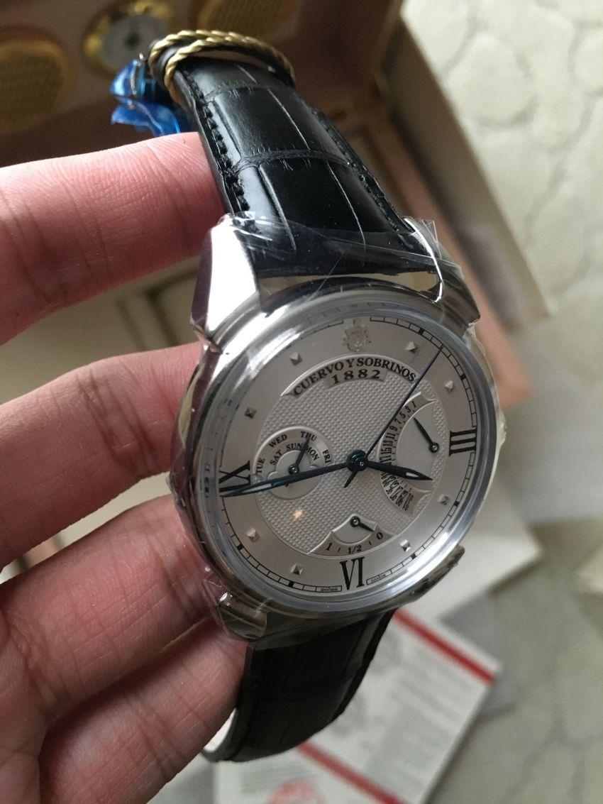库尔沃3194.1A(黑色表带)手表【表友晒单作业】很低调,之...