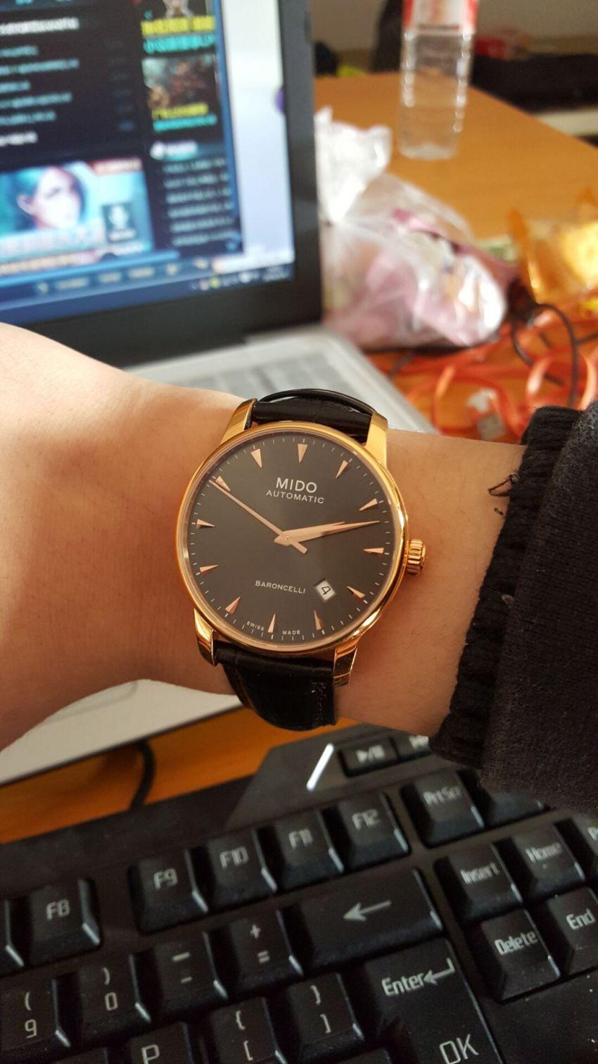 美度M8600.3.13.4手表【表友晒单作业】整体来说还...