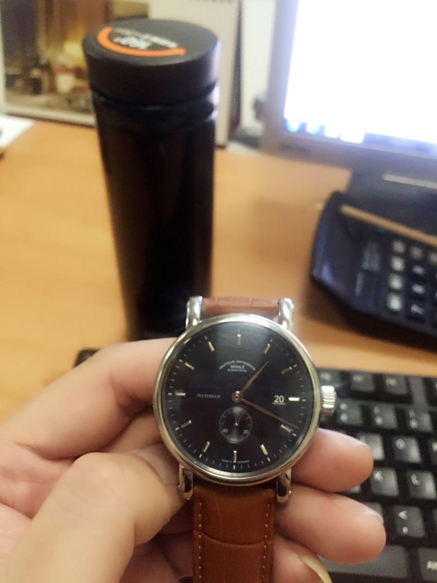 格拉苏蒂·莫勒M1-33-42-LB手表【表友晒单作业】手表非常漂...