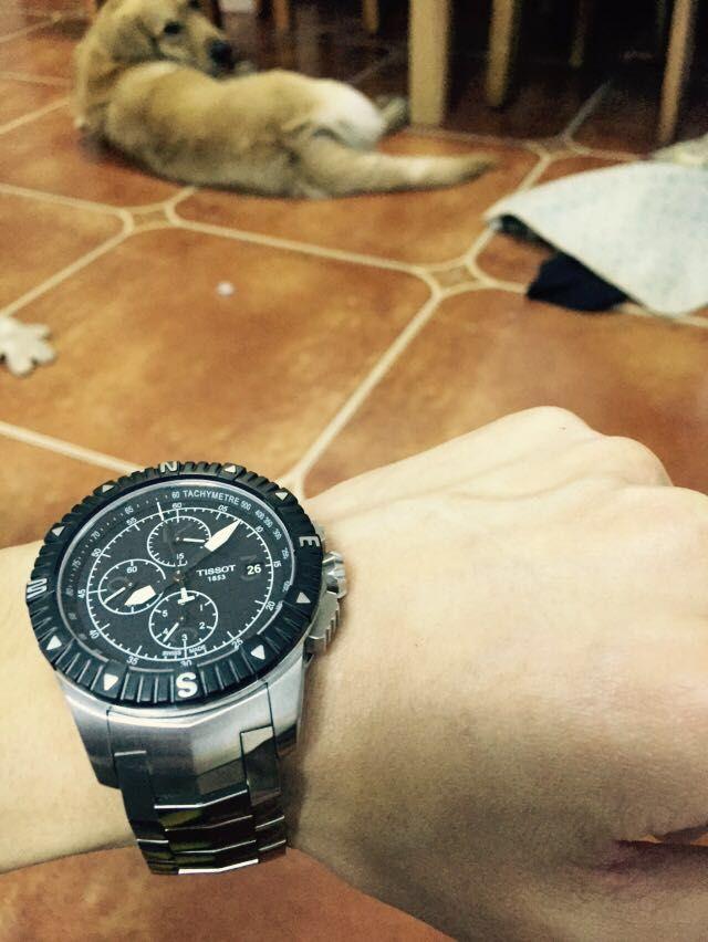 天梭T062.427.11.057.00手表【表友晒单作业】特意跑到专...