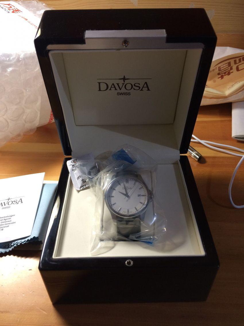 迪沃斯16246615手表【表友晒单作业】首先快递打...