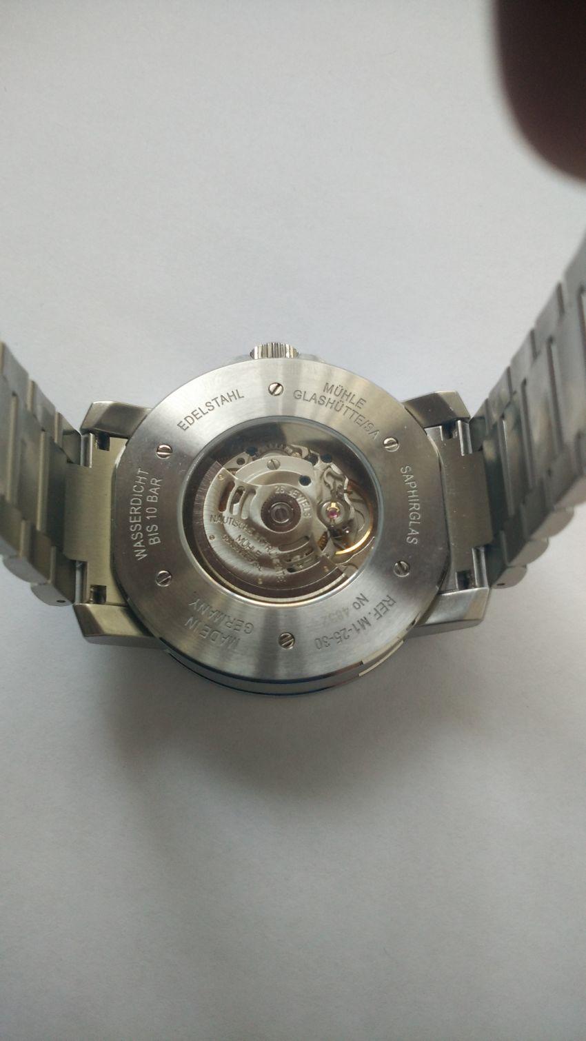 格拉苏蒂·莫勒M1-25-31-MB手表【表友晒单作业】德国穆勒2...