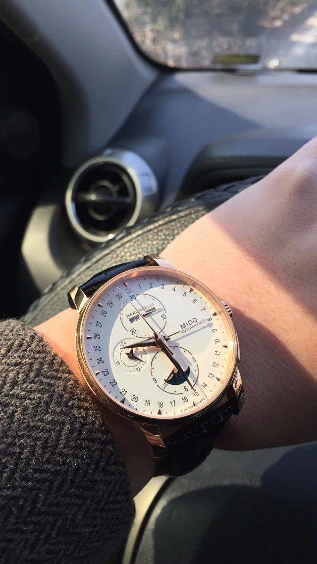美度M8607.3.M1.42手表【表友晒单作业】买的时候害...